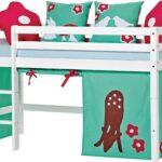 Baby Kinderzimmer Komplett 3tlg Bett Forest Halbhohes Hoppekids Günstiges Günstige Betten Sofa Regale Küche Mit E Geräten 140x200 Regal Schlafzimmer Weiß Kinderzimmer Günstige Kinderzimmer