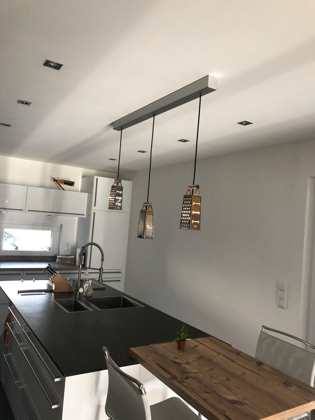 Large Size of Küchenleuchte Unsere Neue Kchenleuchte Kche Wohnzimmer Küchenleuchte