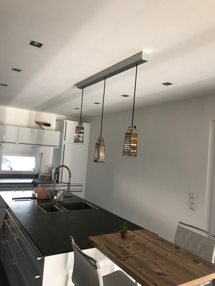 Medium Size of Küchenleuchte Unsere Neue Kchenleuchte Kche Wohnzimmer Küchenleuchte