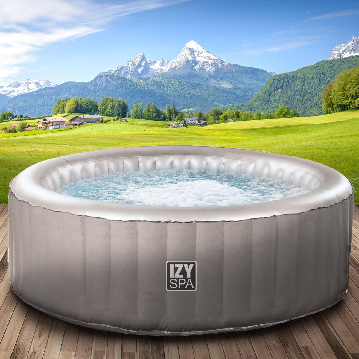 Full Size of Whirlpool Aufblasbar Aufblasbarer Izyspa Brast24de Garten Wohnzimmer Whirlpool Aufblasbar