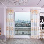 Küchenvorhänge Bume Gardine Tll Fenster Behandlung Voile Drapieren Wohnzimmer Küchenvorhänge