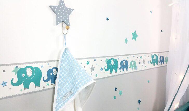 Medium Size of Bordüren Kinderzimmer Dinki Balloon Bordre Elefanten Grau Mint Blau Regal Sofa Regale Weiß Kinderzimmer Bordüren Kinderzimmer