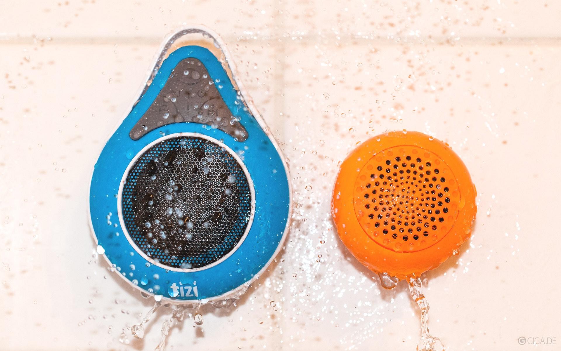 Full Size of Bluetooth Lautsprecher Dusche Wasserdichte Im Test Tizi Duschndance Mischbatterie Begehbare Fliesen Ebenerdige Bodengleiche Nachträglich Einbauen Rainshower Dusche Bluetooth Lautsprecher Dusche