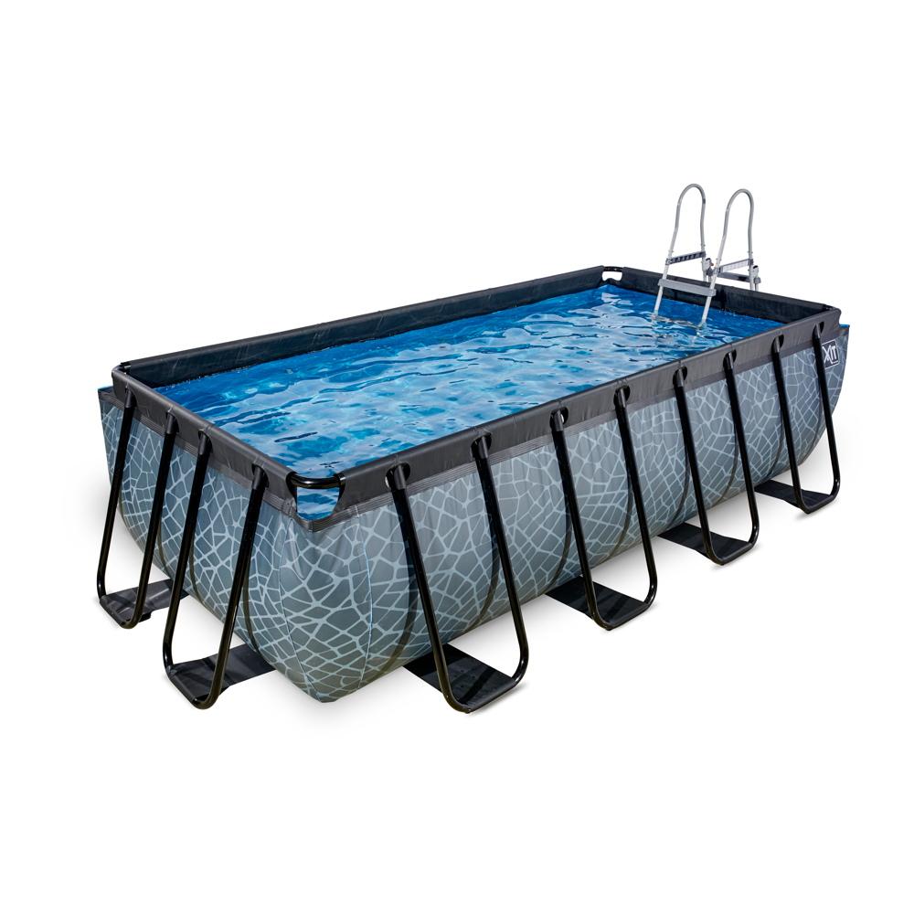 Full Size of Gartenpool Rechteckig Bestway Mit Sandfilteranlage Garten Pool Holz Obi Kaufen 3m Intex Pumpe 40488 Wohnzimmer Gartenpool Rechteckig
