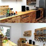 Recycelte Holzpaletten Erfolge Kche Aus Paletten Miniküche Wanddeko Küche Edelstahlküche Fliesenspiegel Singleküche Bodenbeläge Komplette Fliesen Für Wohnzimmer Paletten Küche