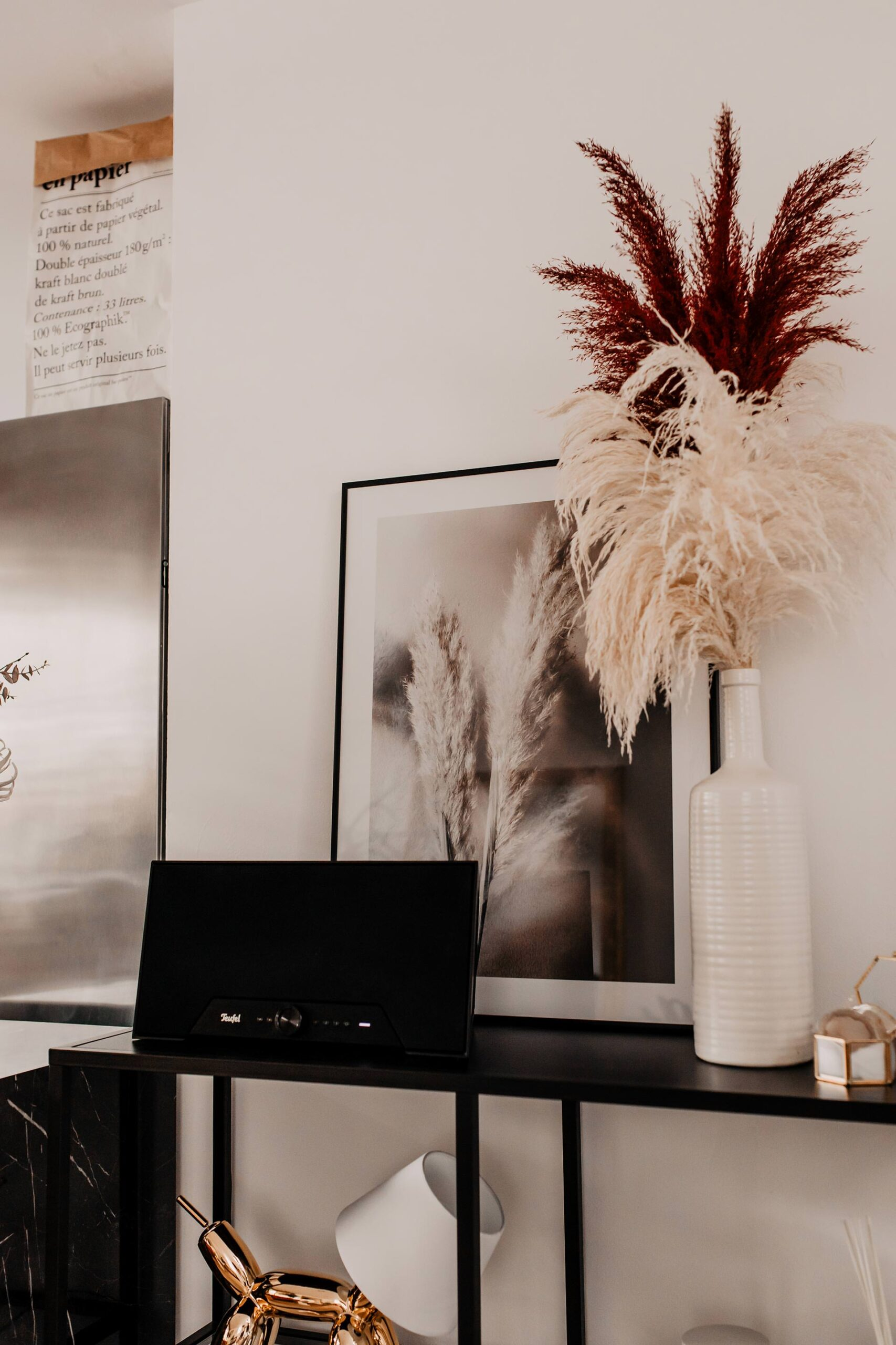 Full Size of Wandgestaltung Küche Mit Bildern Meine Ideen Fr Kche Und Wohnzimmer Rolladenschrank Holzbrett Eckschrank Günstig Elektrogeräten Tapeten Für Selbst Wohnzimmer Wandgestaltung Küche