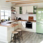 Ikea Küche Grün Wohnzimmer Ikea Küche Grün Farbe In Der Kche So Wirds Wohnlich L Mit Kochinsel Einlegeböden Deckenlampe Fototapete Einbauküche Weiss Hochglanz Zusammenstellen