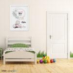 Kinderzimmer Wanddeko Kinderzimmer Kinderzimmer Wanddeko Babyzimmer Vorsicht Kleine Zicke A3 Poster Regal Regale Sofa Küche Weiß