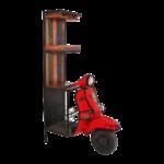 Roller Regale Barschrank Vespa Rot Bunt Metall Regal Aus Altholz Für Keller Bito Holz Kaufen Weiße Schäfer Nach Maß Europaletten Meta Amazon String Cd Regal Roller Regale