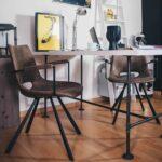 Esstisch Betonplatte Esstische Esstisch Betonplatte Tisch Industrial Design Magefertigt Aus Stahlrohr Temperguss Rustikaler Massivholz Kernbuche Runder Antik Musterring Buche 2m Mit