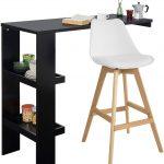Küchenbartisch Sobuy Fwt55 Sch Design Bartisch Stehtisch Bartresen Bistrotisch Wohnzimmer Küchenbartisch