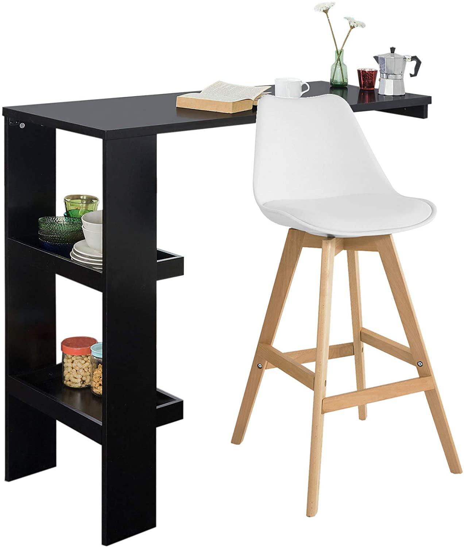 Full Size of Küchenbartisch Sobuy Fwt55 Sch Design Bartisch Stehtisch Bartresen Bistrotisch Wohnzimmer Küchenbartisch