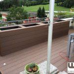 Sichtschutz Hochbeet Bambus Bpc Wpc Terrasse Mit Grner Im Garten Sichtschutzfolie Fenster Einseitig Durchsichtig Sichtschutzfolien Für Holz Wohnzimmer Sichtschutz Hochbeet