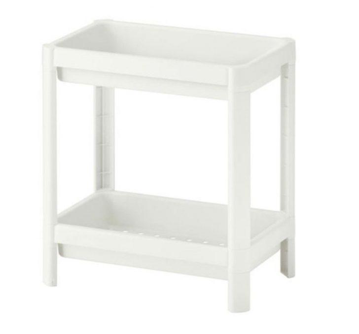 Ikea Küchenregal Vesken Regal In Wei 36x23x40cm Amazonde Baumarkt Modulküche Küche Kaufen Betten Bei Kosten Miniküche 160x200 Sofa Mit Schlaffunktion Wohnzimmer Ikea Küchenregal