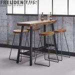Schicker Kchenbartisch Fr 4 Personen Der Esstisch Wood Ist Mit Wohnzimmer Küchenbartisch