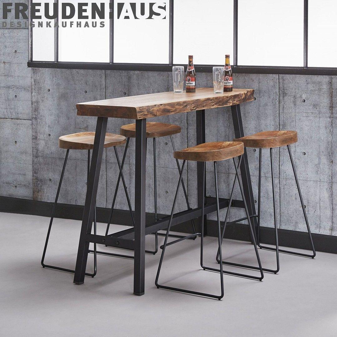 Full Size of Schicker Kchenbartisch Fr 4 Personen Der Esstisch Wood Ist Mit Wohnzimmer Küchenbartisch