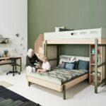Kinderzimmer Hochbett Kinderzimmer Kinderzimmer Hochbett Flexa Etagenbett Popsicle Mit Treppe Blau Ab 4 Jahre 90x200cm Regal Weiß Regale Sofa