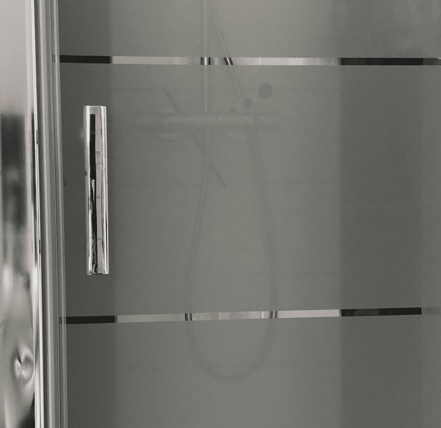 Full Size of Glastür Dusche Besondere Hinweise Fr Satinierte Glasflchen Auf Duschtren Begehbare Fliesen Hsk Duschen Unterputz Ebenerdig Schulte Mischbatterie Glaswand Wand Dusche Glastür Dusche