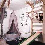 Sprossenwand Kinderzimmer Kinderzimmer Sprossenwand And Blle Ad Klettergerst Im Kinderzimmer Regal Weiß Sofa Regale