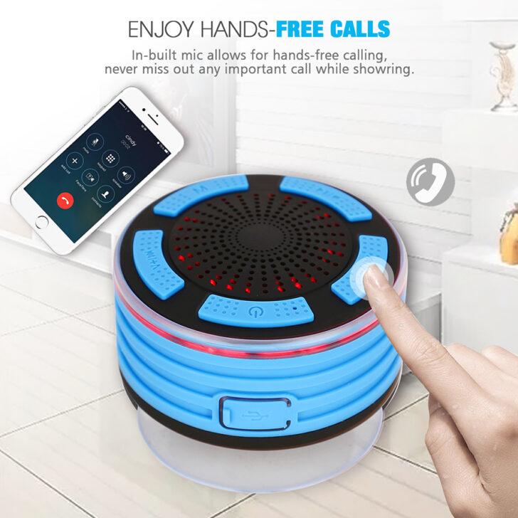 Medium Size of Bluetooth Lautsprecher Dusche Tragbare Mini Wasserdichte Barrierefreie Schulte Duschen Werksverkauf Antirutschmatte Mischbatterie Hüppe Grohe Thermostat Hsk Dusche Bluetooth Lautsprecher Dusche