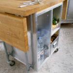 Kücheninsel Wohnzimmer Kücheninsel Bewegliche Kcheninsel Stockfotos Bilder