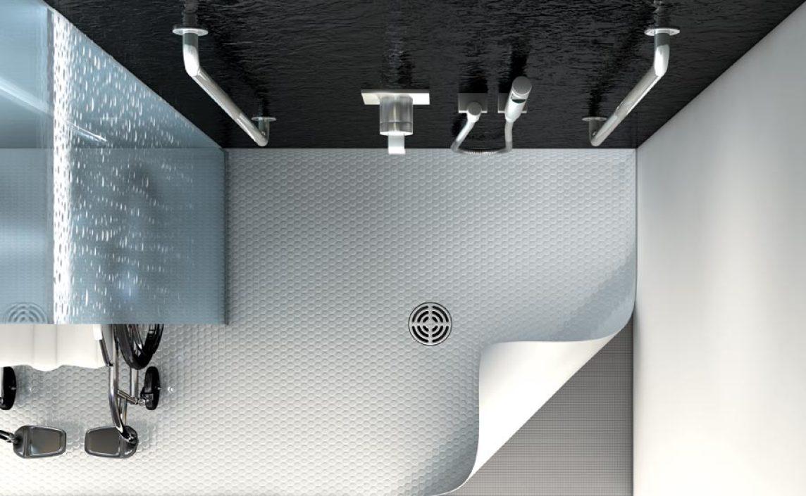 Full Size of Bodengleiche Duschen Duschplatzkonstruktion Fr Pvc Bodenbelge Dusche Nachträglich Einbauen Fliesen Breuer Moderne Sprinz Hüppe Schulte Werksverkauf Kaufen Dusche Bodengleiche Duschen