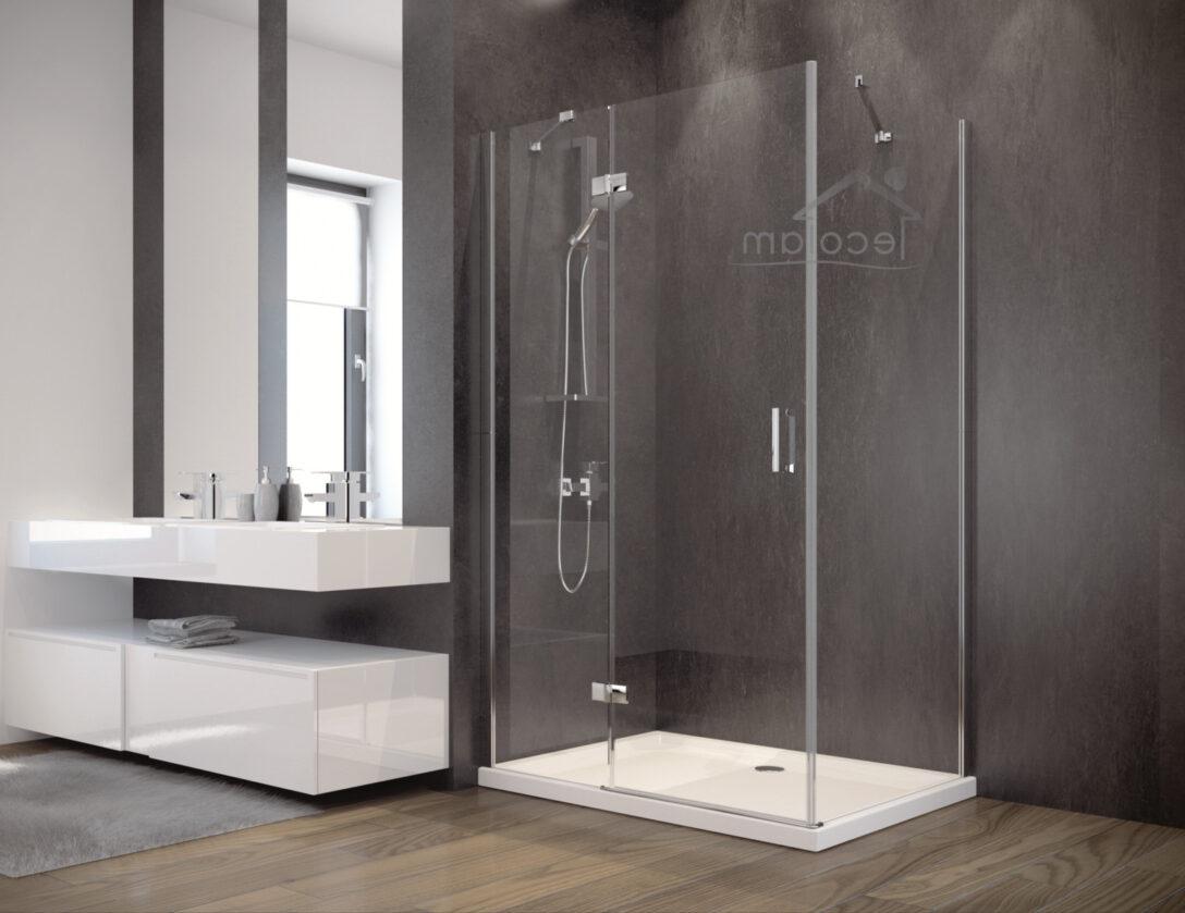 Large Size of Glasabtrennung Dusche Duschkabine Rechteck Transparentes Glas 120x90 195 Cm Bodengleich Badewanne Walkin Eckeinstieg Bidet Antirutschmatte Bluetooth Dusche Glasabtrennung Dusche