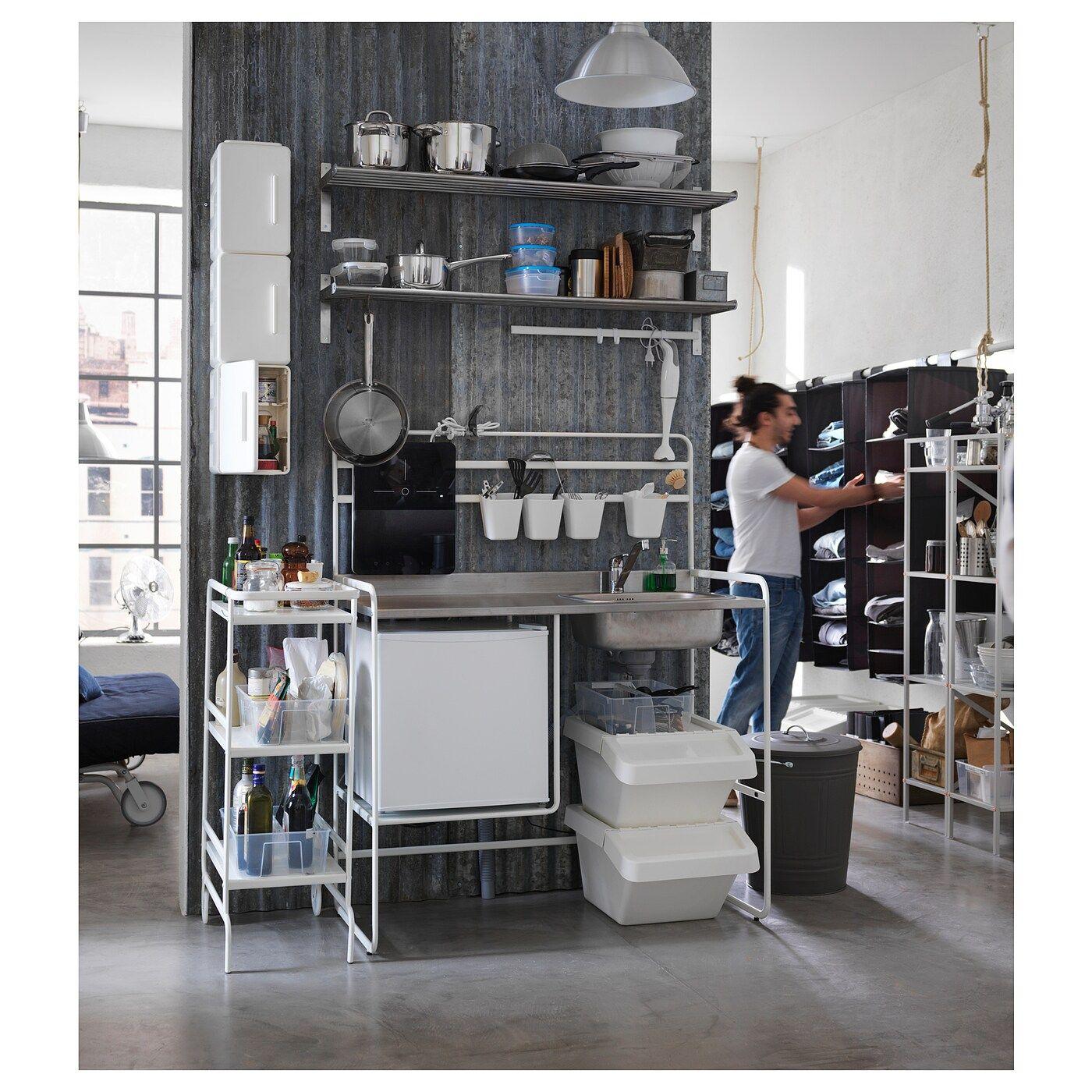Full Size of Sunnersta Minikche Einrichtungsideen Küche Ikea Kosten Miniküche Betten Bei Mit Kühlschrank Stengel Kaufen Sofa Schlaffunktion Modulküche 160x200 Wohnzimmer Miniküche Ikea