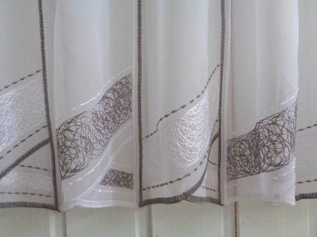 Large Size of Scheibengardine Modern Weiss Grau 45 Cm Hhe Br Ab 1 Meter Wohnzimmer Bilder Deckenleuchte Schlafzimmer Moderne Duschen Bett Design Modernes Küche Holz Wohnzimmer Scheibengardine Modern