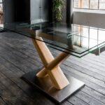 Esstisch Glas Ausziehbar Gino Glastisch 160 240cm 90cm Ausziehbarer Glastrennwand Dusche Massiv Glastür Lampe Designer Mit Baumkante Rustikal Holz Esstische Esstische Esstisch Glas Ausziehbar