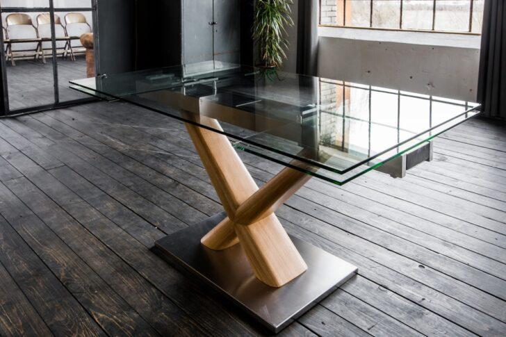Medium Size of Esstisch Glas Ausziehbar Gino Glastisch 160 240cm 90cm Ausziehbarer Glastrennwand Dusche Massiv Glastür Lampe Designer Mit Baumkante Rustikal Holz Esstische Esstische Esstisch Glas Ausziehbar