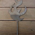 Gartendeko Aus Holz Und Metall Flamme Metallkunst Holzhaus Garten Runder Esstisch Ausziehbar Weiß Regal Obstkisten Thailand Rundreise Baden Landhaus Wohnzimmer Gartendeko Aus Holz Und Metall
