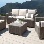 Terrassen Lounge Wohnzimmer Gadget Des Tages 4 Teiliges Garten Lounge Set In Rattan Optik Möbel Loungemöbel Günstig Holz Sessel Sofa