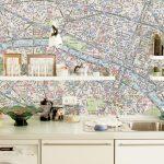 Küche Tapete Wohnzimmer Küche Tapete Wandgestaltung Kche So Einfach Wirds Wohnlich Abluftventilator Rückwand Glas Lieferzeit Finanzieren Fototapete Wohnzimmer Arbeitstisch