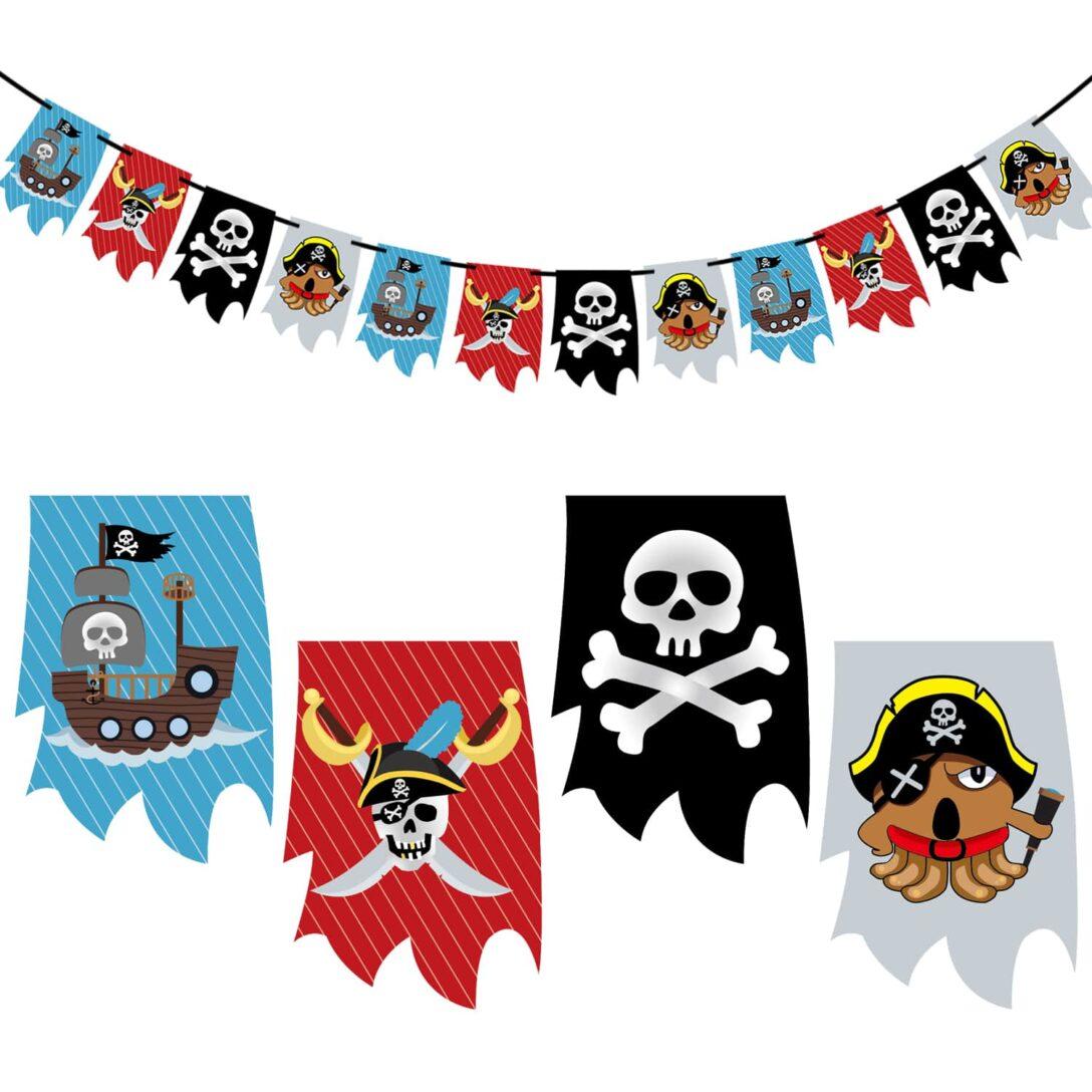 Large Size of Piraten Girlande Banner Fr Jungs Kinderzimmer Deko Kinder Regale Regal Sofa Weiß Kinderzimmer Piraten Kinderzimmer