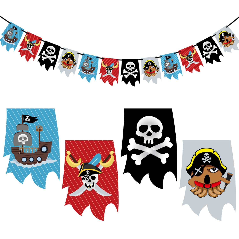 Full Size of Piraten Girlande Banner Fr Jungs Kinderzimmer Deko Kinder Regale Regal Sofa Weiß Kinderzimmer Piraten Kinderzimmer