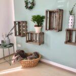Deko Ideen Mit Weinkisten Obstkisten Bilder Diy Wanddeko Küche Wohnzimmer Tapeten Bad Renovieren Wohnzimmer Wanddeko Ideen
