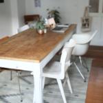 Esstisch Teppich Grau Betonplatte Mit 4 Stühlen Günstig Stühle Landhausstil Esstischstühle Shabby Weißer Industrial Wildeiche Oval Esstische Design Weiß Esstische Esstisch Teppich