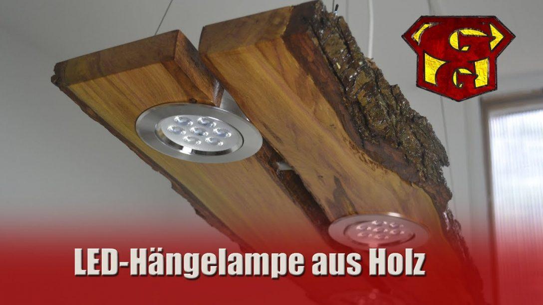 Large Size of Deckenlampe Holz Led Aus Garagengurus 18 Youtube Esstisch Fliesen Holzoptik Bad Massivholz Ausziehbar Schlafzimmer Holzhaus Garten Cd Regal Holzbank Regale Wohnzimmer Deckenlampe Holz