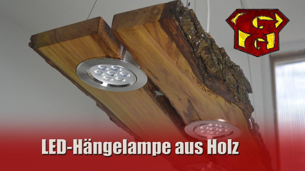 Full Size of Deckenlampe Holz Led Aus Garagengurus 18 Youtube Esstisch Fliesen Holzoptik Bad Massivholz Ausziehbar Schlafzimmer Holzhaus Garten Cd Regal Holzbank Regale Wohnzimmer Deckenlampe Holz