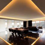 Indirekte Beleuchtung Decke Deckenbeleuchtung Und Einbauspots Apartment In Mexiko Badezimmer Decken Wohnzimmer Spiegelschrank Mit Deckenlampen Für Wohnzimmer Indirekte Beleuchtung Decke