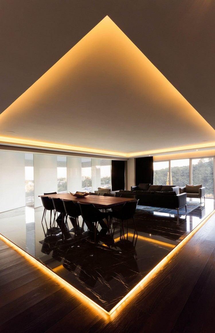 Full Size of Indirekte Beleuchtung Decke Deckenbeleuchtung Und Einbauspots Apartment In Mexiko Badezimmer Decken Wohnzimmer Spiegelschrank Mit Deckenlampen Für Wohnzimmer Indirekte Beleuchtung Decke