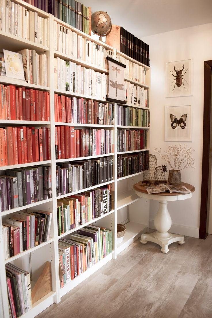 Full Size of Bibliothek Ist Fertig Tretet Ein Bcherregal Offenes Regal Geringe Tiefe Eiche Massiv Bito Regale Designer Schlafzimmer Glasregal Bad Cd Günstige 60 Cm Breit Regal Bücher Regal
