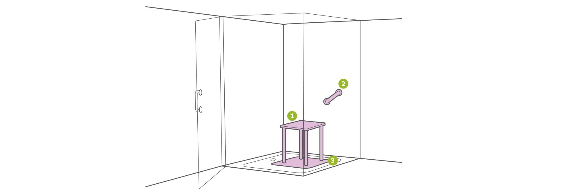 Full Size of Behindertengerechte Dusche Barrierefreie Pflegede Unterputz Armatur Grohe Thermostat Sprinz Duschen Bodengleiche Breuer Nischentür Badewanne Mit Begehbare Dusche Behindertengerechte Dusche