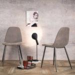 Esstisch Und Stühle Sthle Rahia In Dunkel Grau Taupe Modern Pharao24de Schlafzimmer Set Mit Matratze Lattenrost Weiß Marokko Rundreise Baden Bett 140x200 Esstische Esstisch Und Stühle
