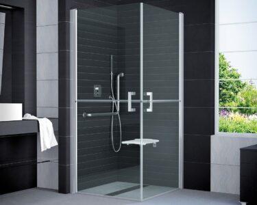Dusche Eckeinstieg Dusche Dusche Eckeinstieg Duschkabine Behindertengerecht 100 195 Cm Bad Design Heizung Glastür Bodengleiche Duschen Behindertengerechte Unterputz Begehbare Sprinz