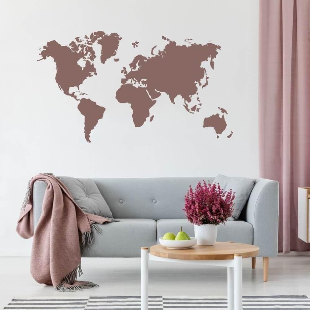 Full Size of Mchten Sie Eine Weltkarte An Ihrer Wand Haben Inspio Regale Kinderzimmer Regal Sofa Weiß Kinderzimmer Wandschablonen Kinderzimmer