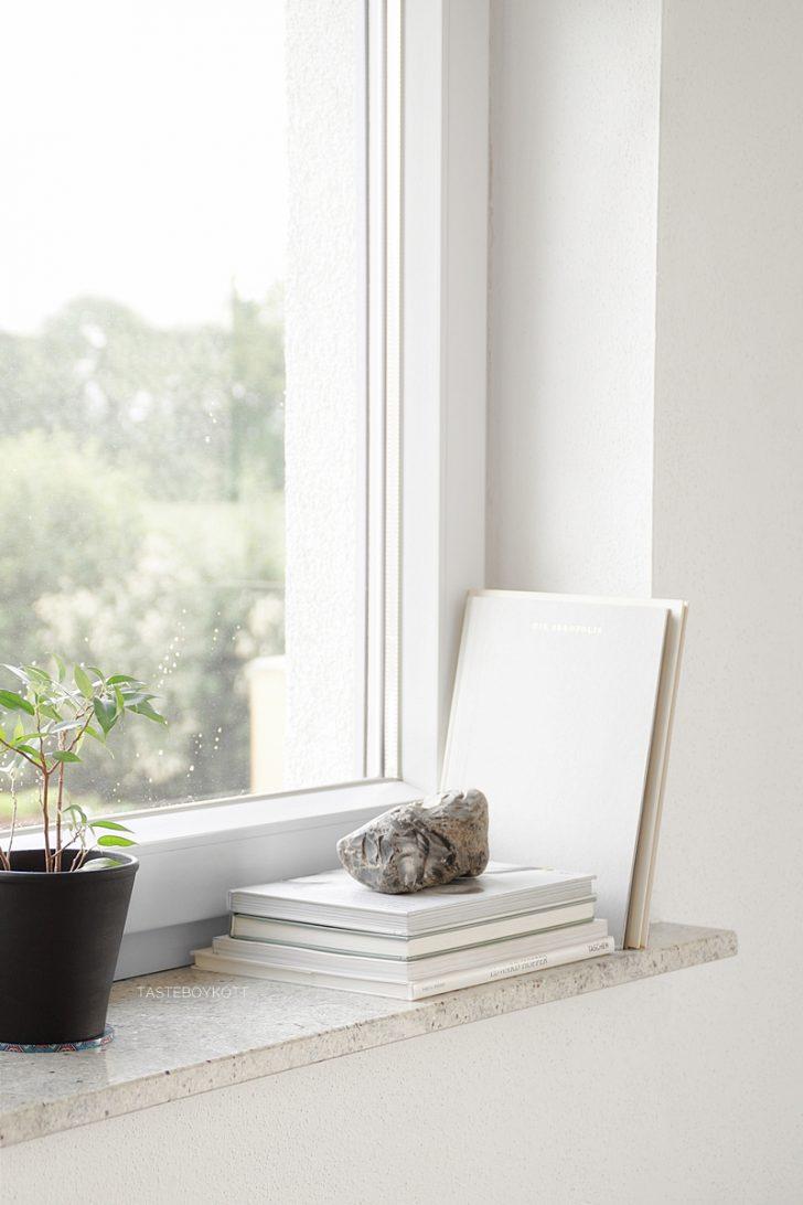 Medium Size of Schneller Dekotipp Ein Stein Als Skulptur Wohnzimmer Fensterbank Dekorieren