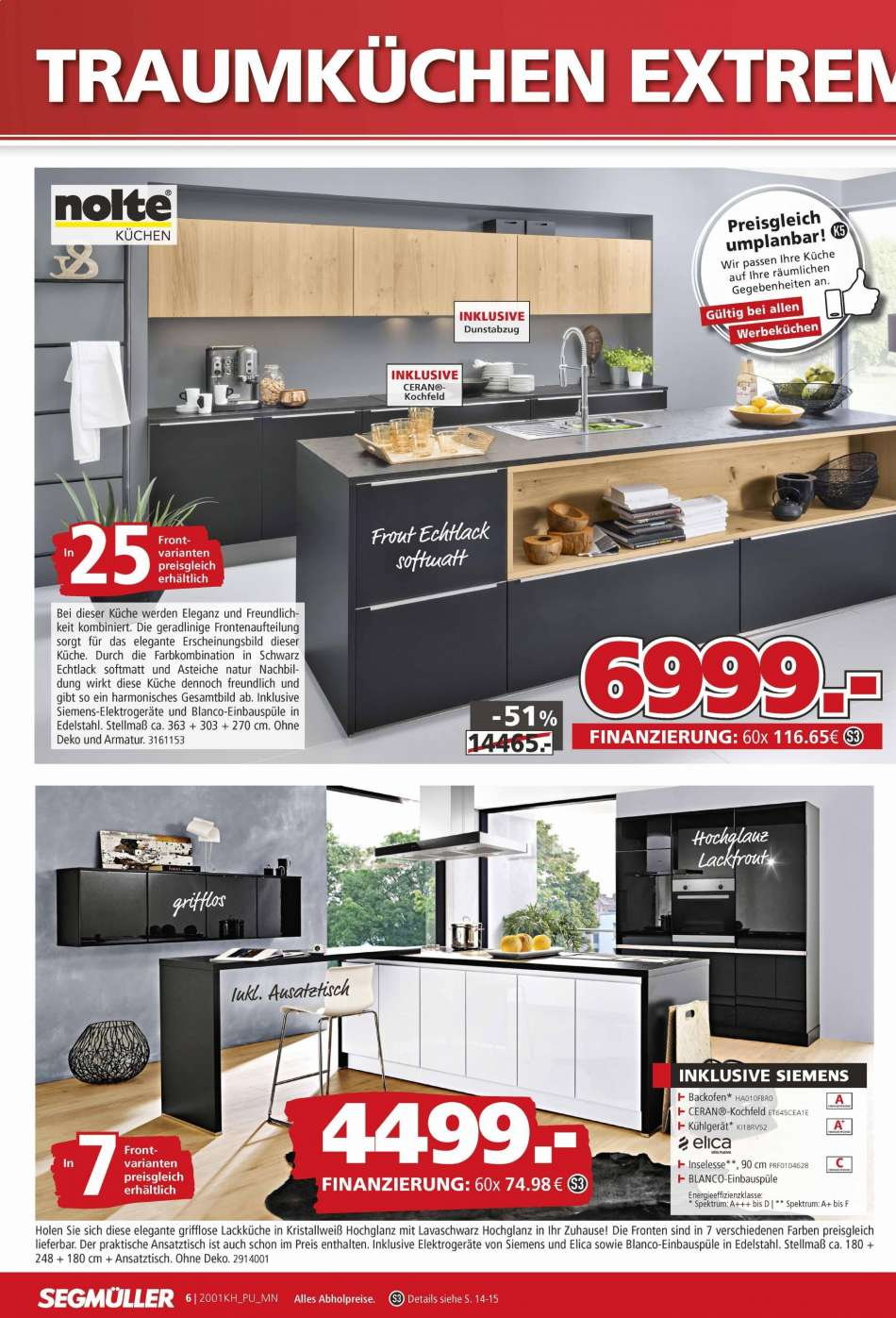 Full Size of Segmüller Küchen Segmller Aktuelles Prospekt 1512020 2712020 Rabatt Kompass Regal Küche Wohnzimmer Segmüller Küchen