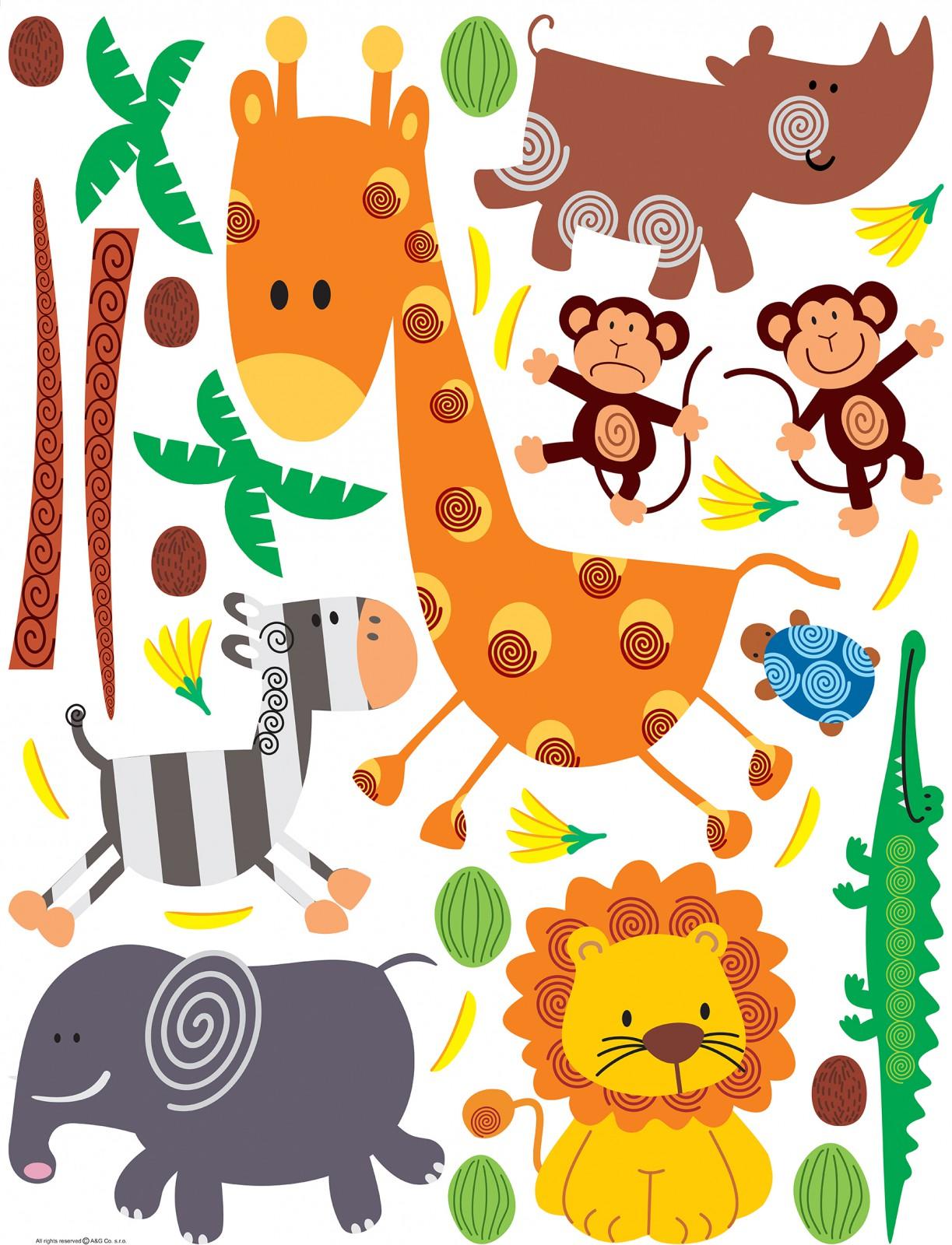 Full Size of Wandtattoo Kinderzimmer Tiere Wandsticker Sticker Zoo 65x85cm Regal Sprüche Wandtattoos Küche Bad Schlafzimmer Sofa Wohnzimmer Weiß Badezimmer Regale Kinderzimmer Wandtattoo Kinderzimmer Tiere